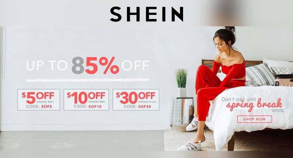Les meilleurs codes promo SHEIN au Maroc valables en Décembre 2020 sont à découvrir ici !