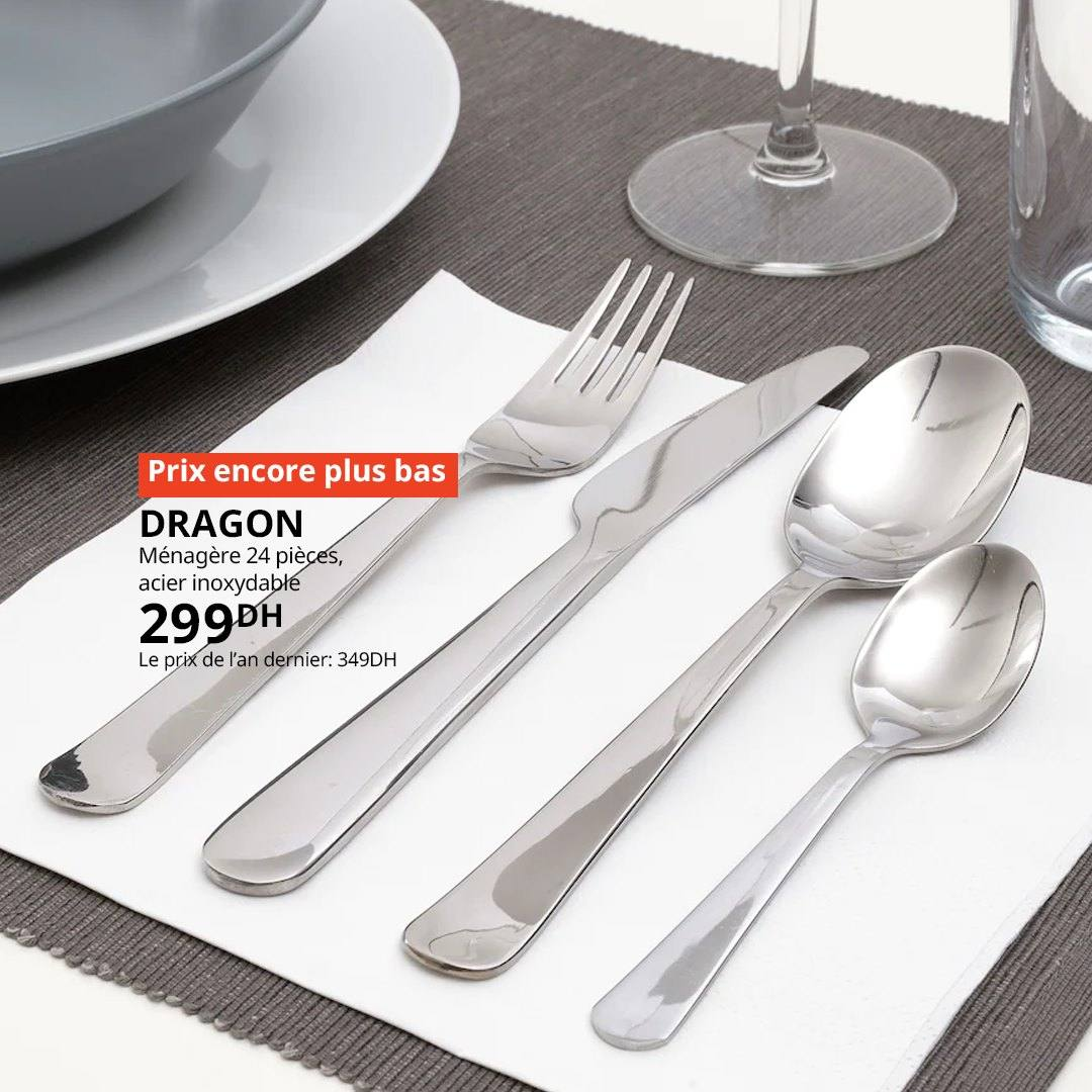 Offre Ikea Maroc Les Couverts Dragon