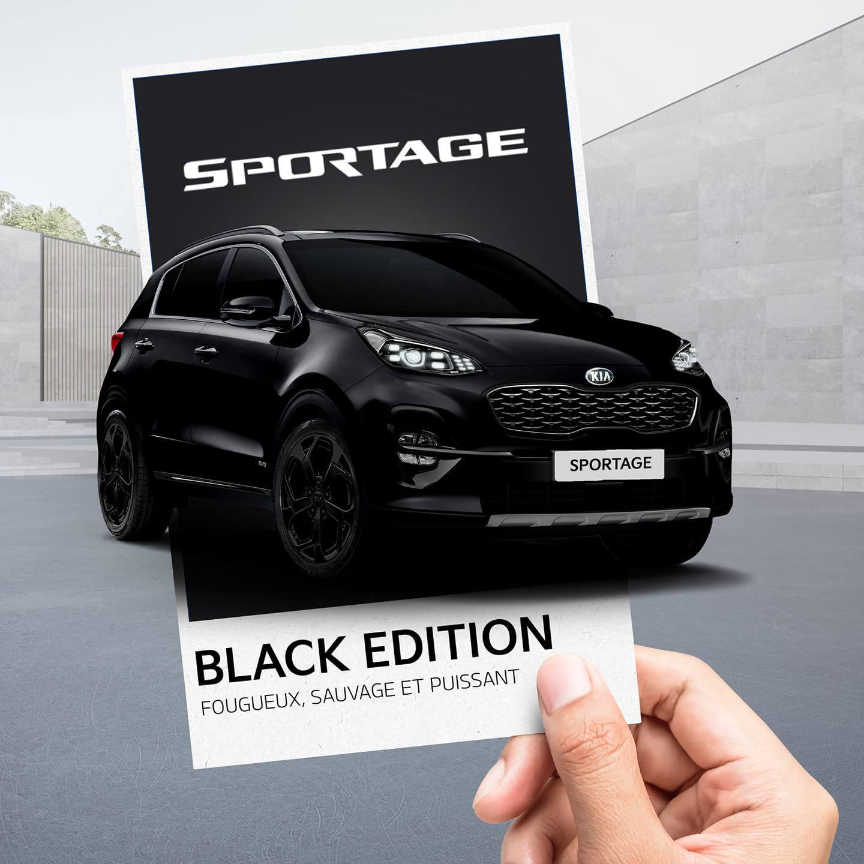 Offre KIA Maroc Sportage Black Edition Prix Maroc
